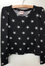 For All Seasons Star Print Crewneck Shirt