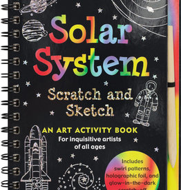 Scratch + Sketch Solar System