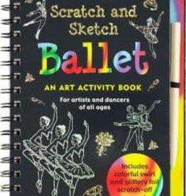 Peter Pauper Scratch + Sketch Ballet