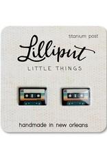 Retro Cassette Earrings