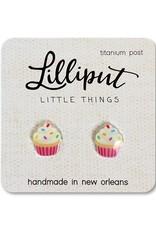 Birthday Cupcake Earrings