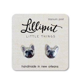 French Bulldog Earrings