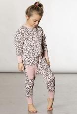 Deux par Deux One Piece Pajamas - Pink Leopard