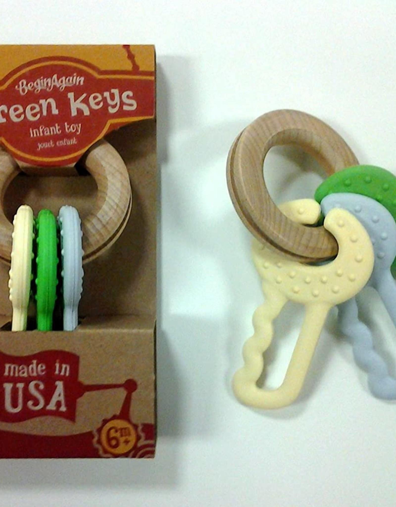 Begin Again Green Keys