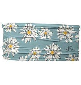 Thin Headband, Blue Daisies