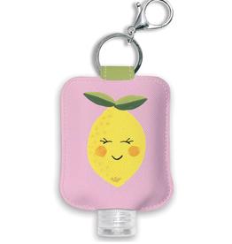 Citrus Bliss Hand Sanitizer Holder with Bottle