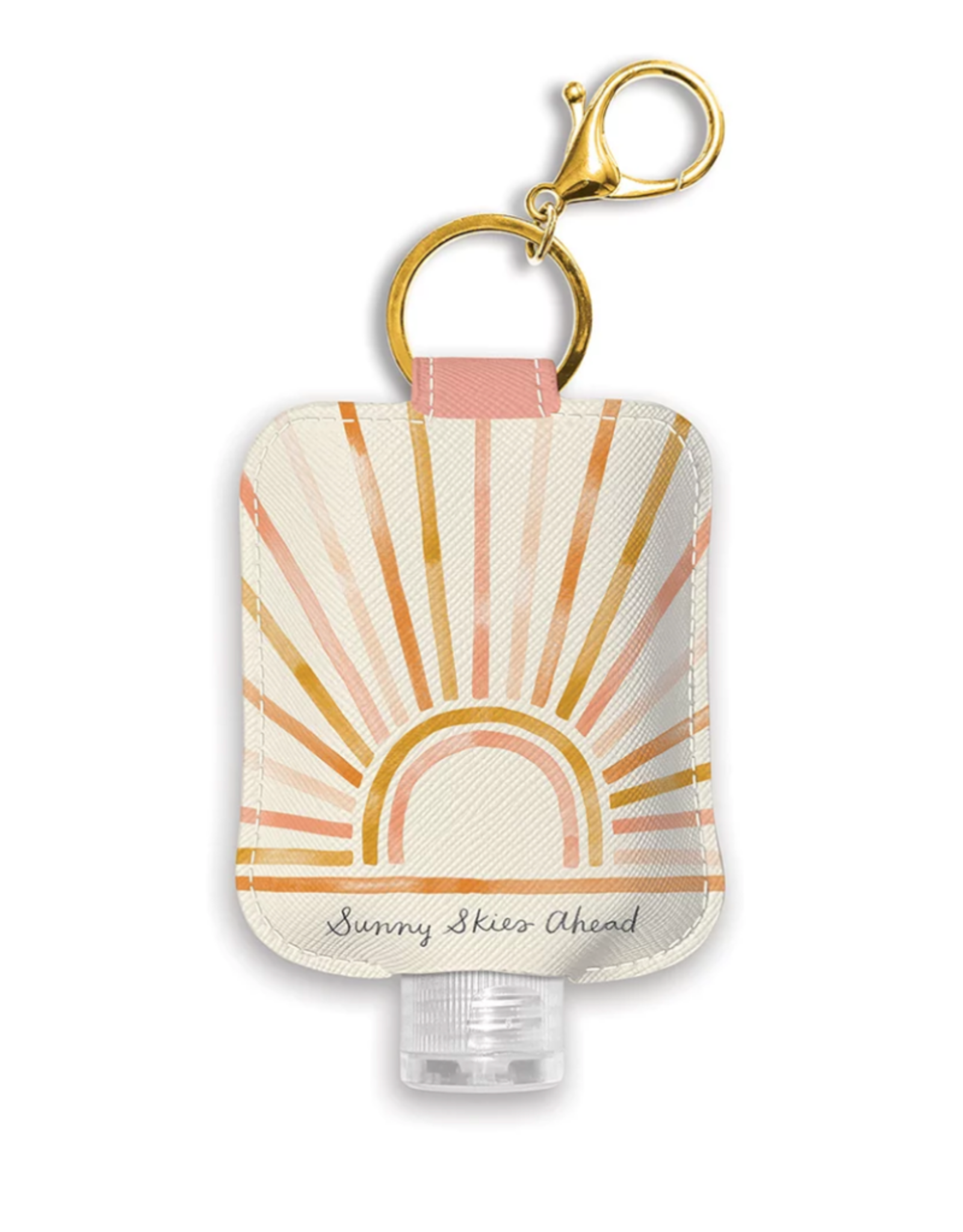 Sunny Skies Ahead Hand Sanitizer Holder with Bottle
