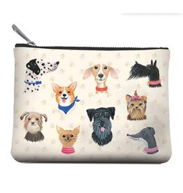 Doggone Cute Zippered Pouch, Medium