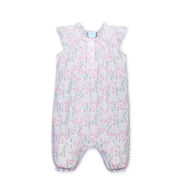 Feather Baby Angel Sleeve Romper