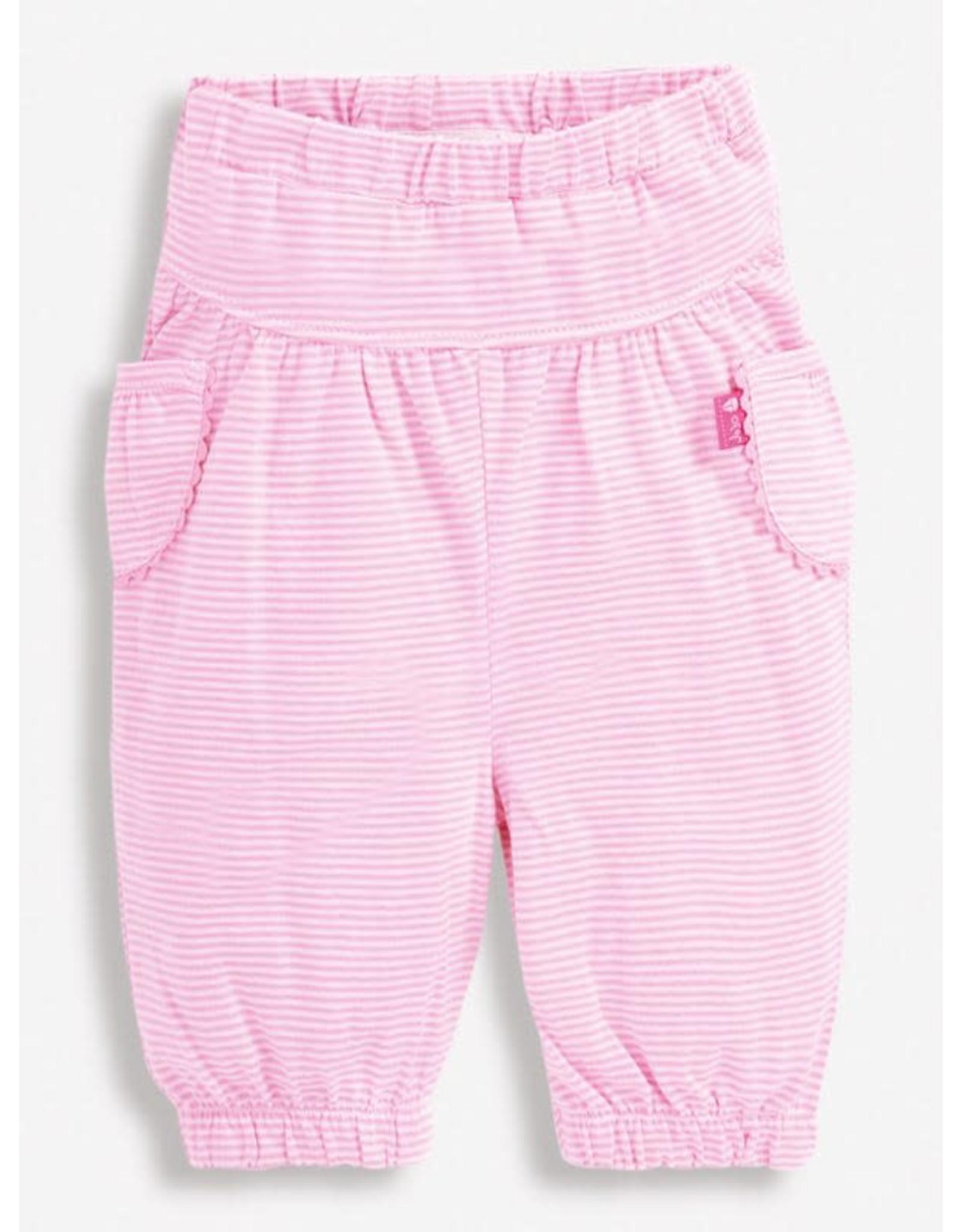 Jojo Baby Trousers, Pink Stripe