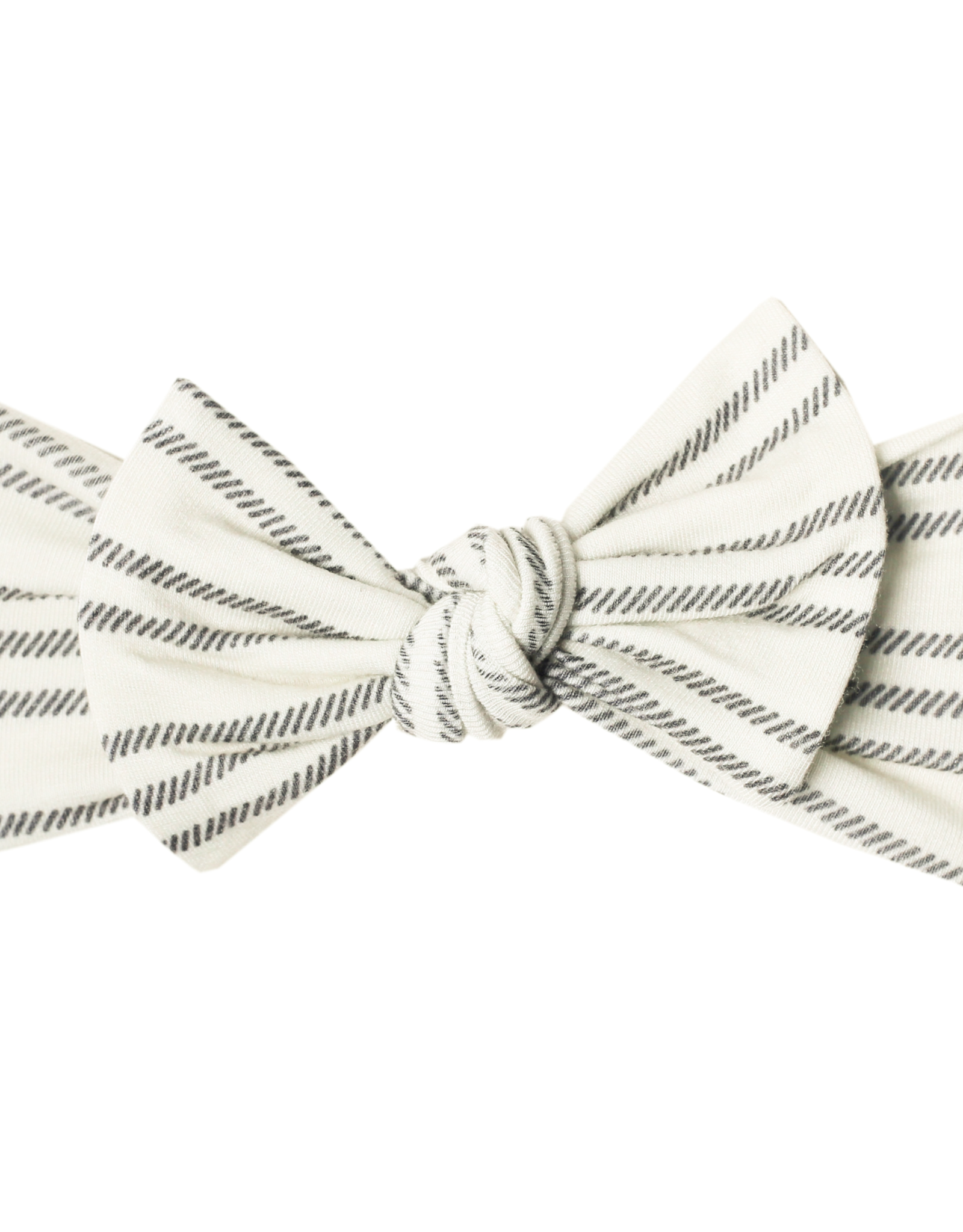 Copper Pearl Knit Headband Bow Midtown