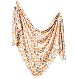 Copper Pearl Swaddle Blanket Citrus
