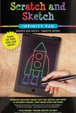 Peter Pauper Scratch and Sketch Infinity Pad