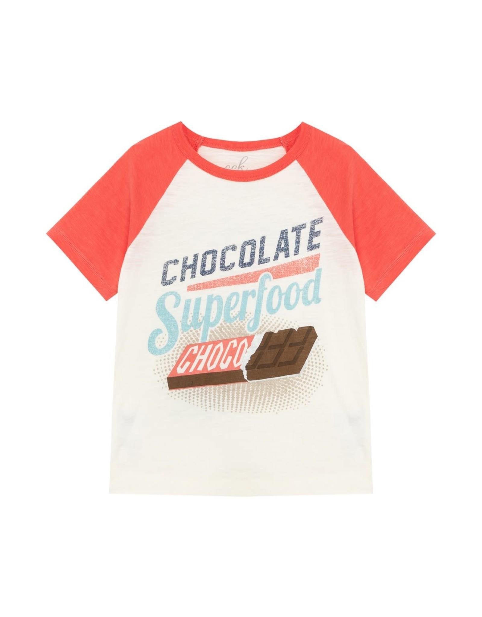 Peek Tee - Chocolate is the Answer