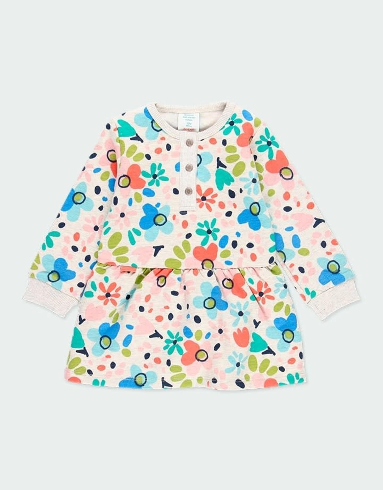 Boboli Dress, Floral Print