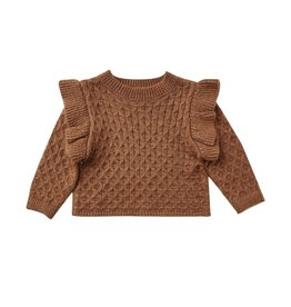 Rylee + Cru La Reina Sweater, Rust