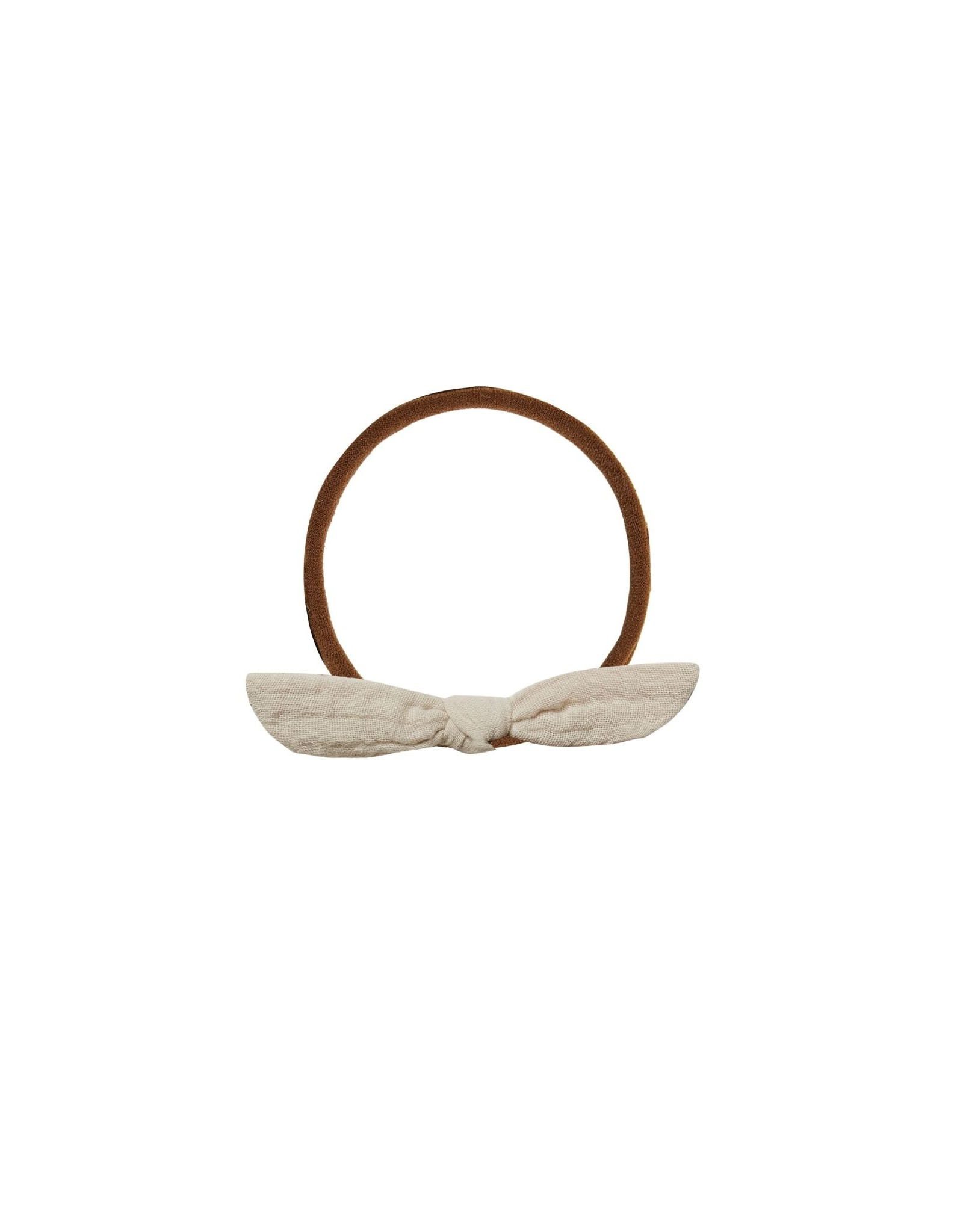 Rylee + Cru Knotted Headband, Stone