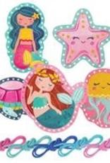 Lacing Cards, Mermaid