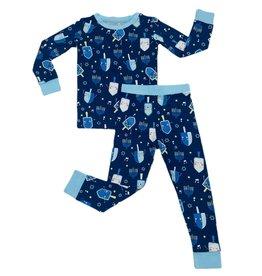 Little Sleepies Dancing Dreidels Two-Piece Pajama Set