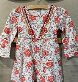 Almirah Gina Dress, Crimson