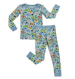 Little Sleepies Jungle Safari Pajama Set