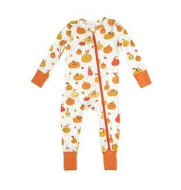 Angel Dear Pumpkins 2 Way Zipper Romper