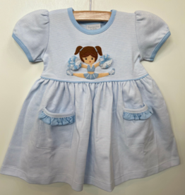 Squiggles Cheerleader Popover Dress