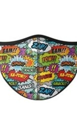 Top Trenz Face Mask, Small, Comic Theme