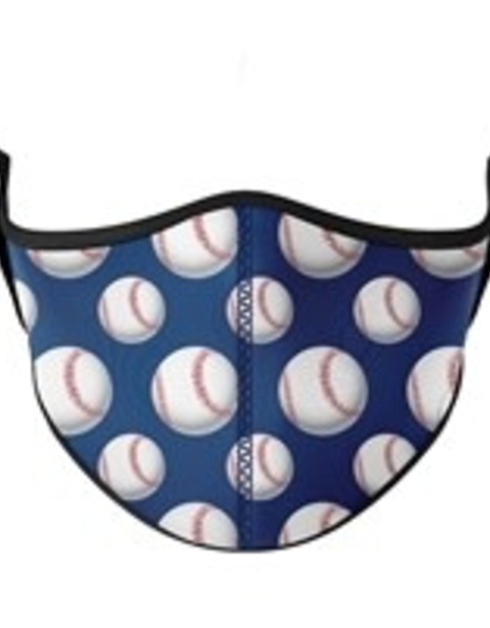 Top Trenz Face Mask, Small, Baseball