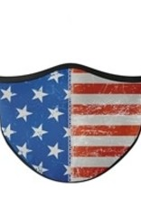 Top Trenz Fashion Face Mask, Large, American Flag
