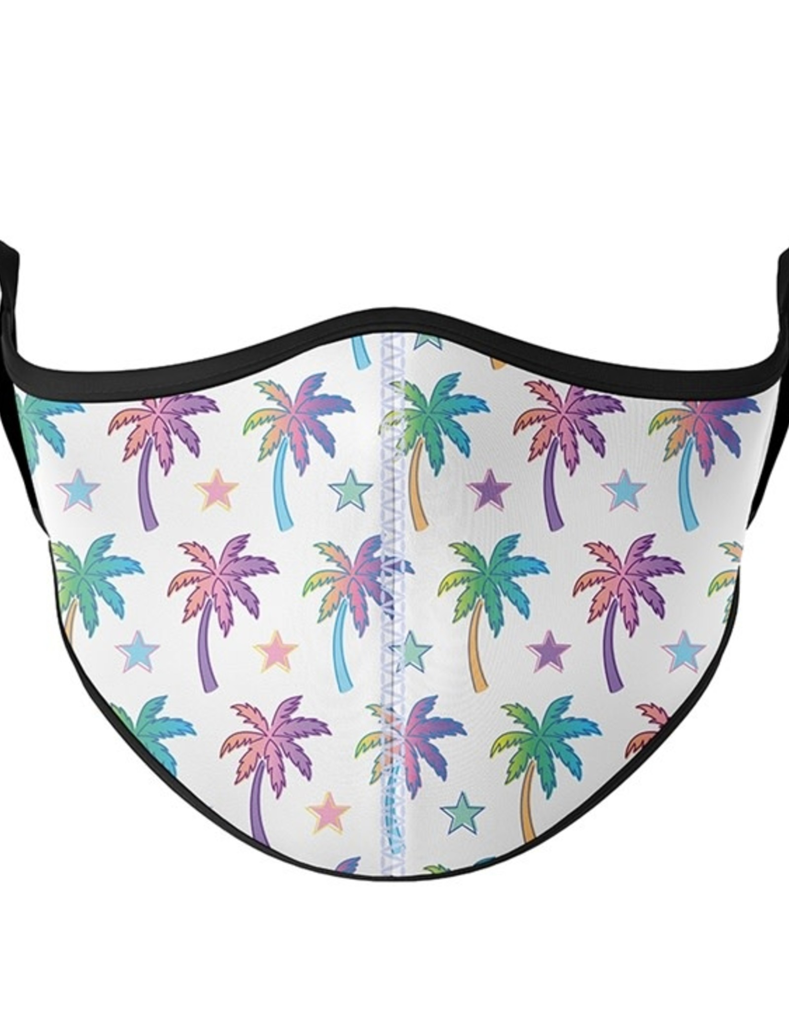 Top Trenz Fashion Face Mask, Large, Palm Tree
