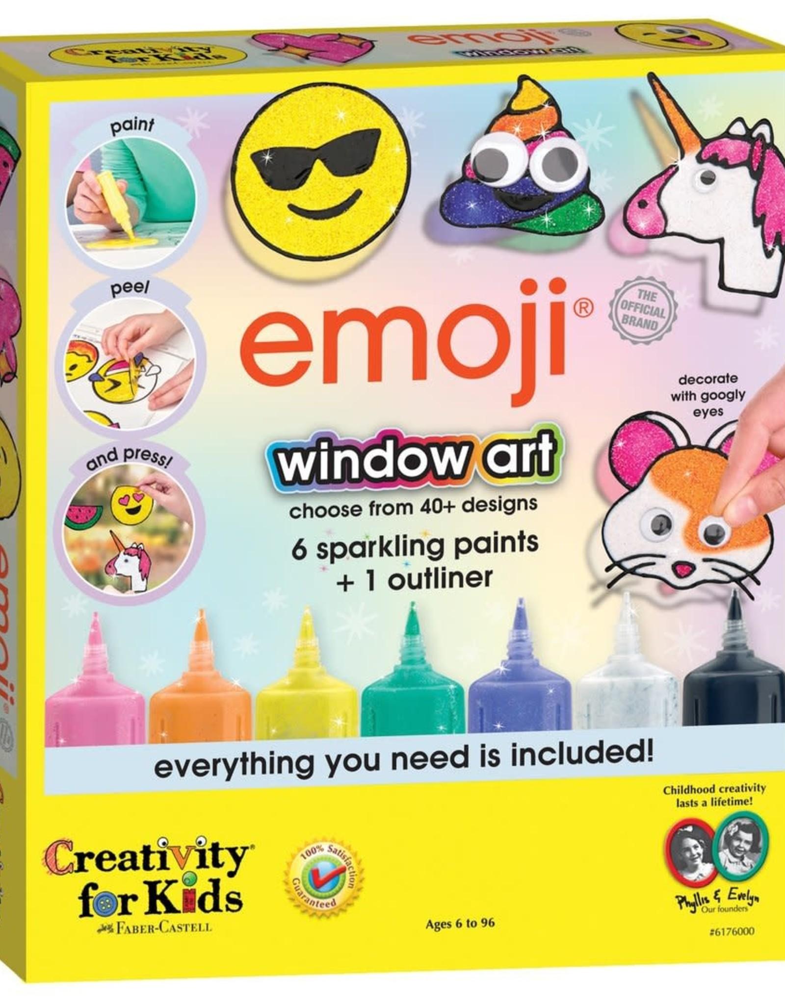 Emoji Window Art