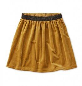 Tea Velour Twirl Skirt