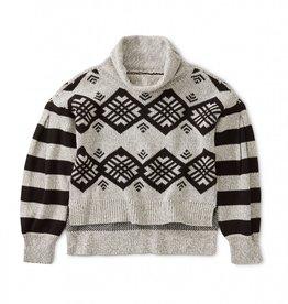 Tea Chimmi Choden Family Sweater Jet Black, size L