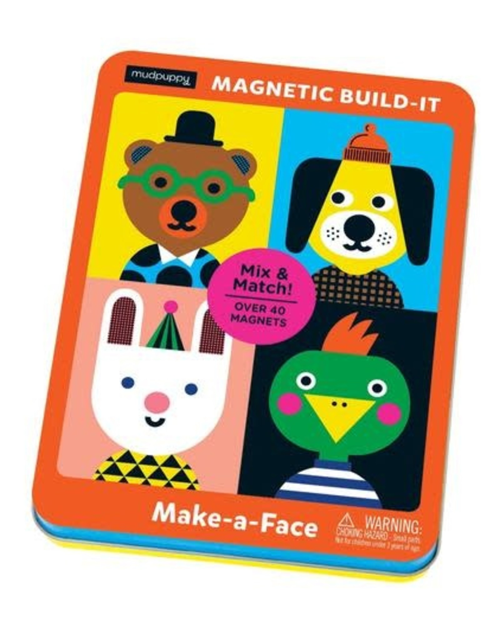 Mudpuppy Magnetic Build-It, Make-a-Face