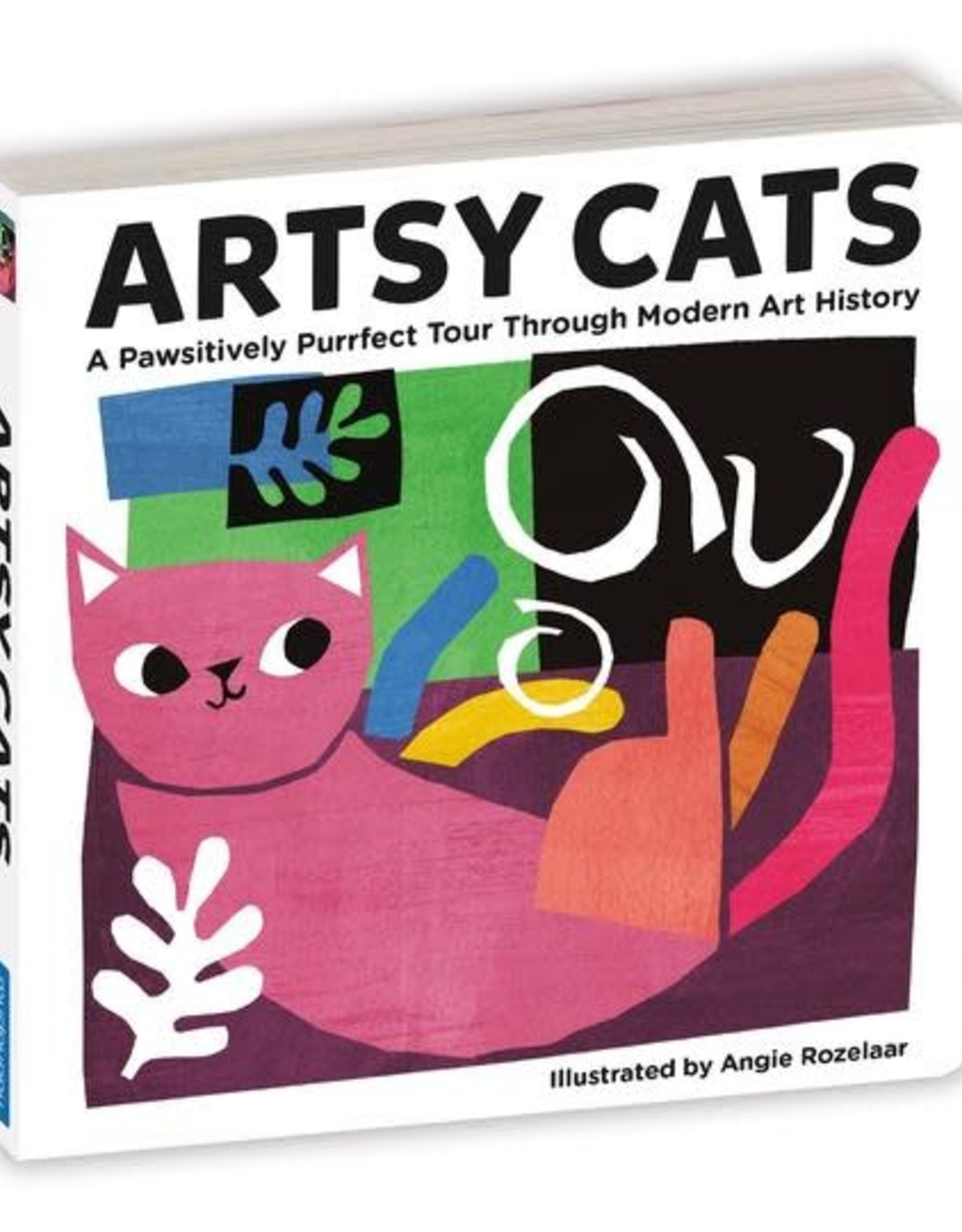 Artsy Cats, Illustrated by Angie Rozelaar