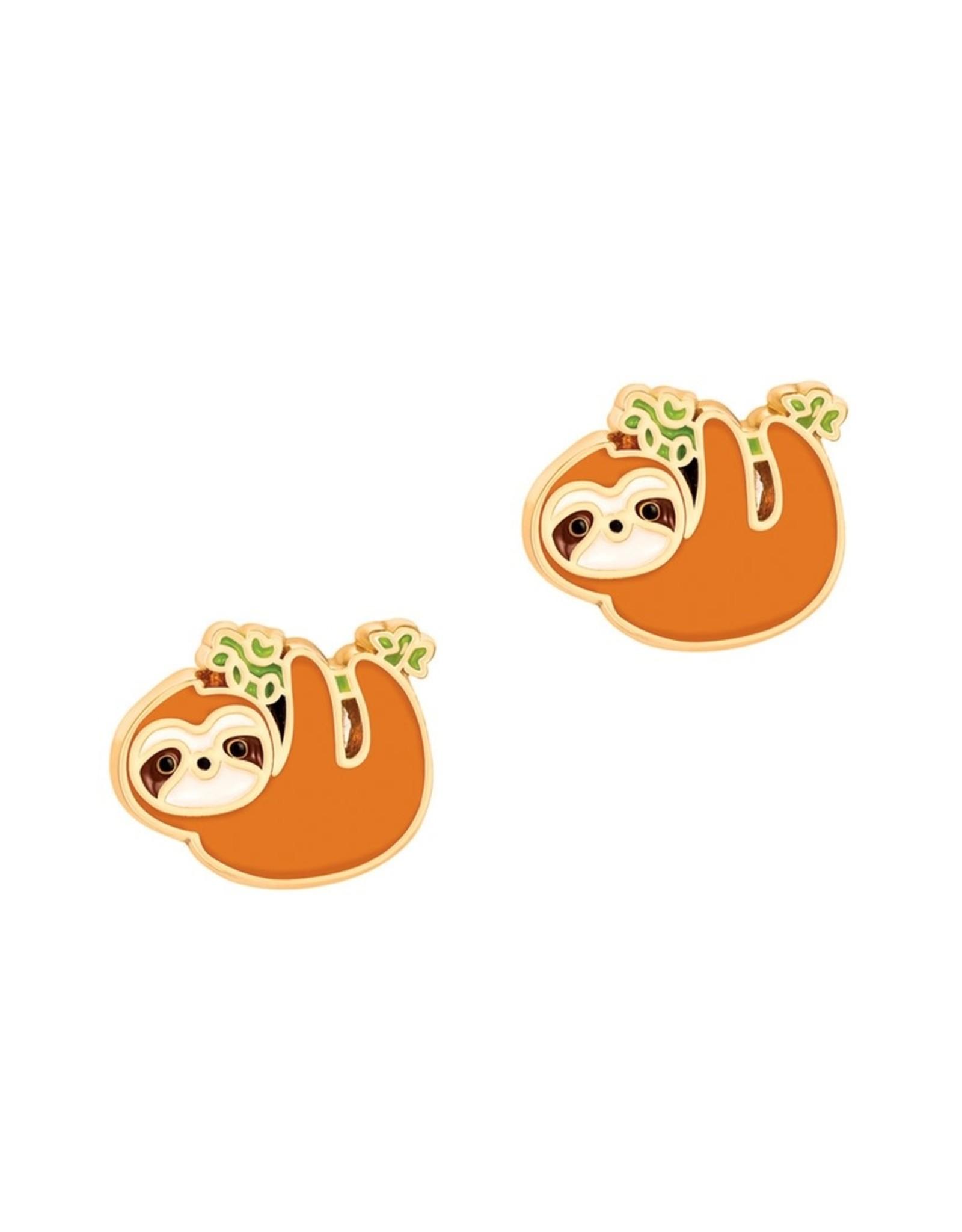 Girl Nation Playful Sloth Earrings