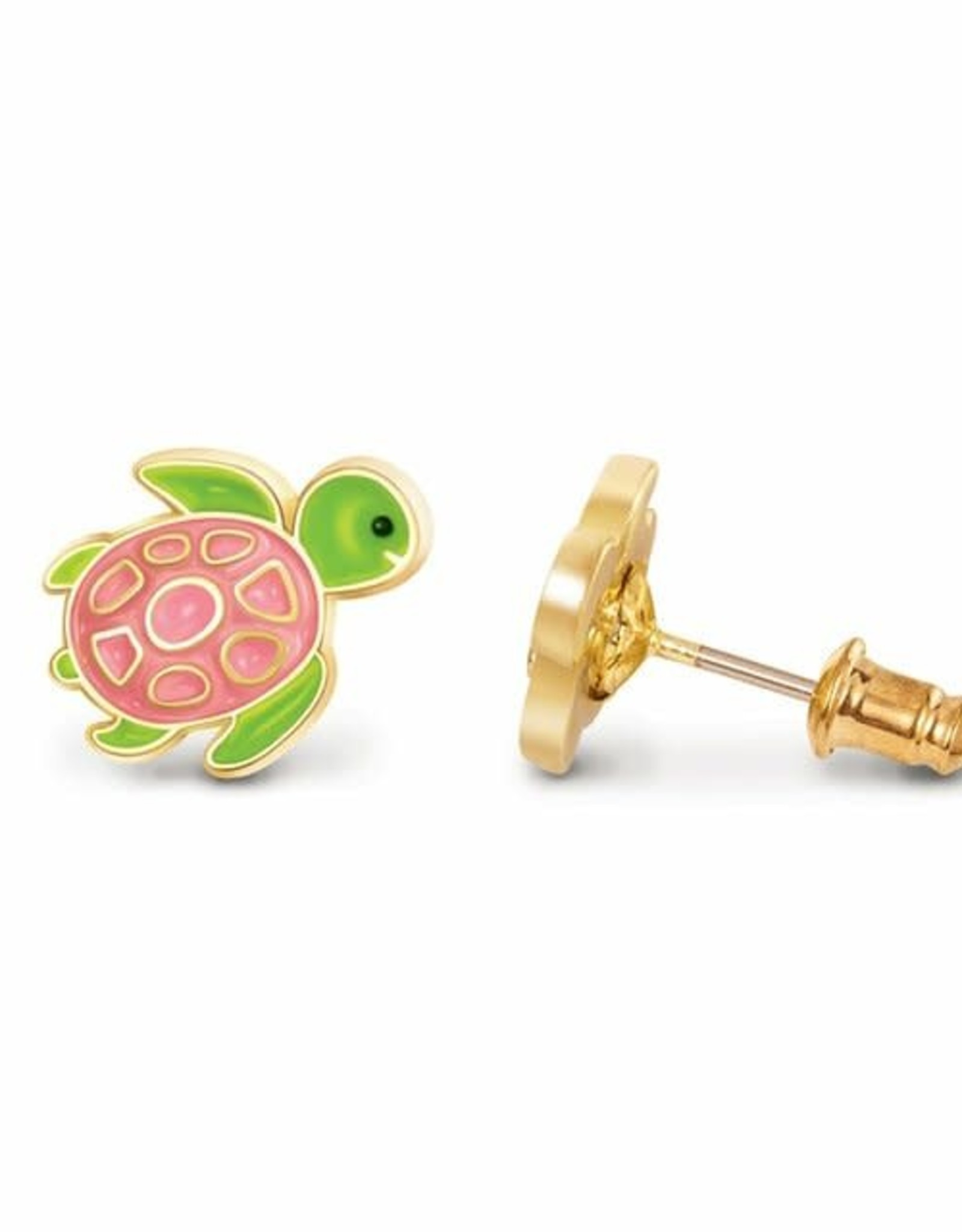 Girl Nation Turtle-y Awesome Clip-On Earrings