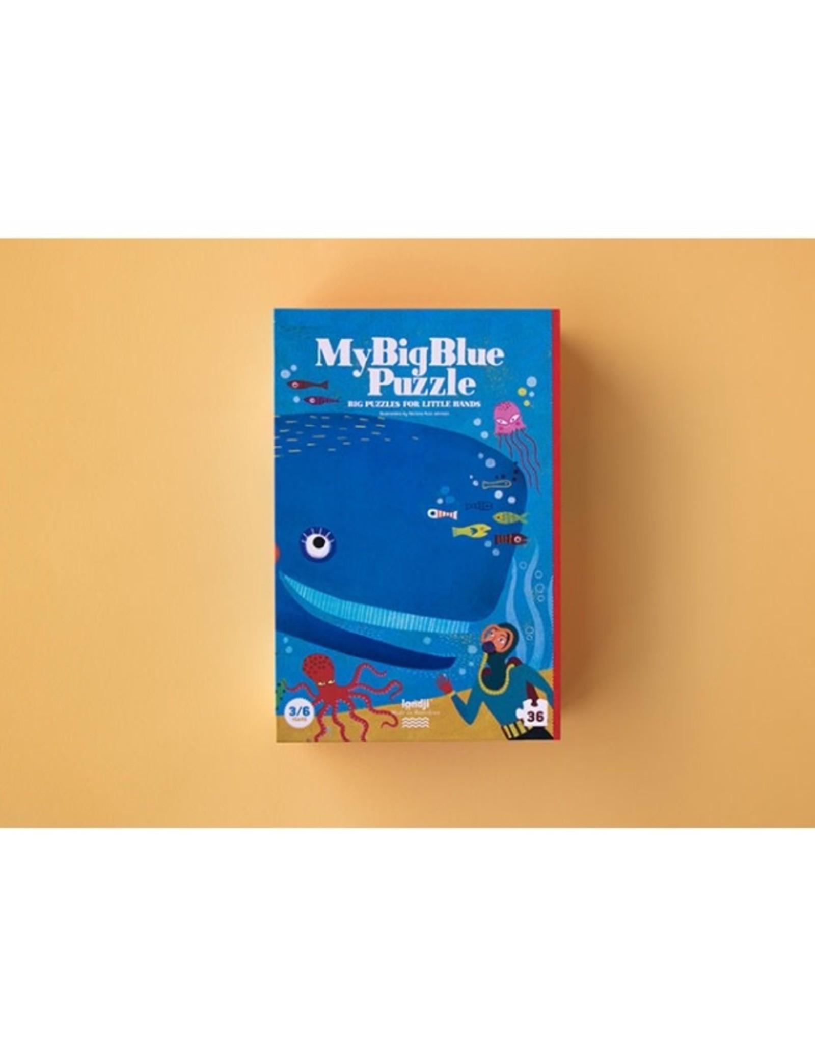 My Big Blue Puzzle, 36 pcs