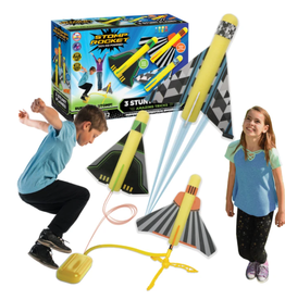D&L Stomp Rocket Stunt Planes