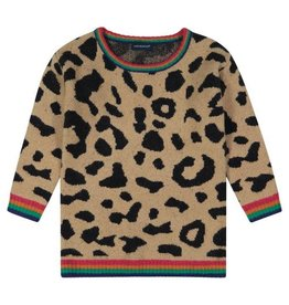 Andy & Evan Leopard Sweater Tunic