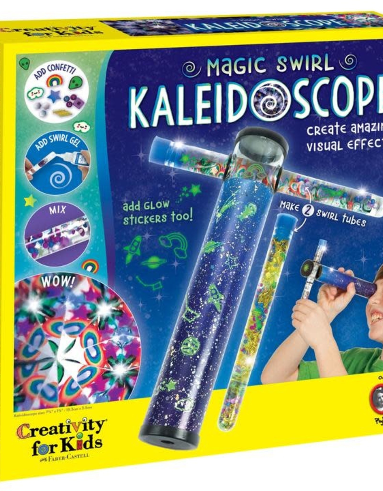 Magic Swirl Kaleidoscope Craft Kit