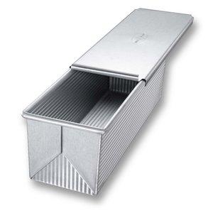 """USA Pan USA PAN Pullman loaf pan and cover 9"""" x 4"""""""