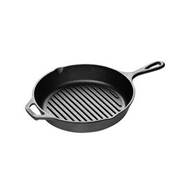 "Lodge LODGE Single Person Grill Pan 6.5"""
