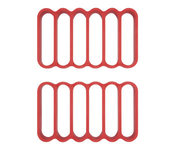 OXO Silicon Roasting Racks/ Set of 2