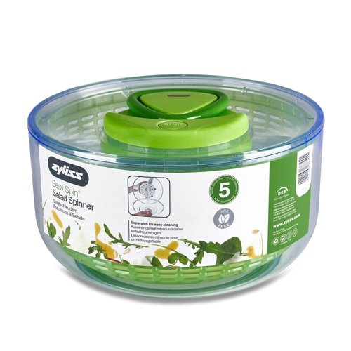 Zyliss ZYLISS EASY SPIN SALAD SPINNER GREEN