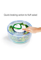 Swissmar ZYLISS EASY SPIN SALAD SPINNER GREEN