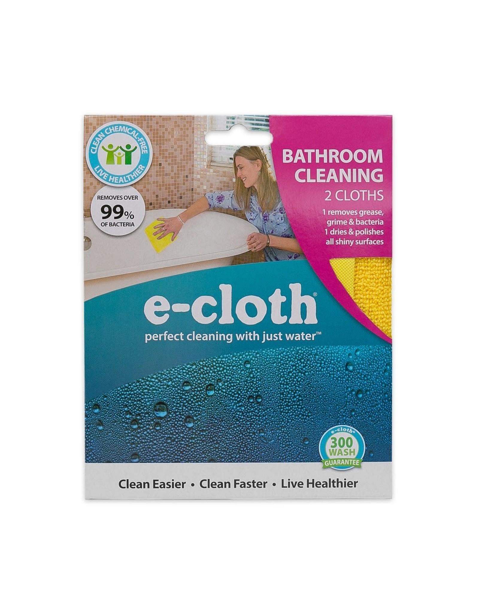 E-Cloth Inc. Bathroom Cleaning Set of 2 E-CLOTH