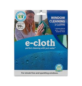 E-Cloth Inc. WINDOW CLEANING CLOTH/ SET OF 2
