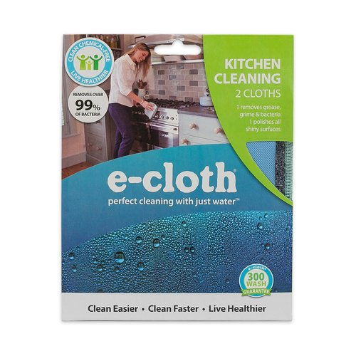 E-Cloth Inc. KITCHEN CLEANING E-CLOTH SET OF 2